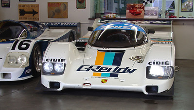 1991 Porsche 962 Group C No. 166. One of the last 962's built by Porsche. Now at the Madison Zamperini Collection.