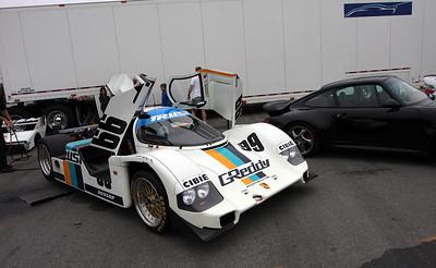 2011 October - Porsche 962C #166 at Rennsport Reunion IV.