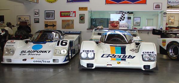 1991 Porsche 962 chassis no. 166.