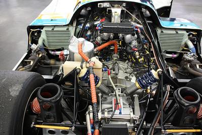Porsche 962 power train.