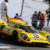 Gijs van Lennep in a Porsche 917K from 1970 in the Corkscrew