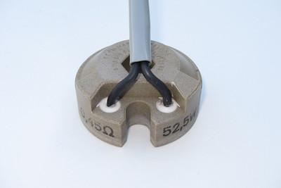 Oil Cooler Fan Series Resistor  Electrical specifications: 0.45 Ω; 52.5 W.