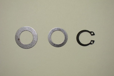 Primary Shaft Shims & Circlip