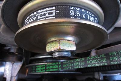 New style alternator pulley.