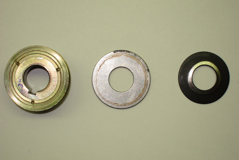 Primary Shaft Toothed Gear, Washer & Belleville Washer