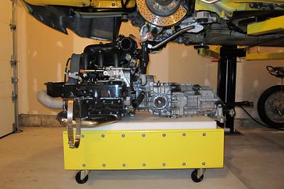 Engine / Transmission Drop - 77,902 Km (48,406 miles)