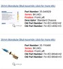"Both of these Bilstein B6 (HD) shocks are for the Porsche 993 and are listed on the Bilstein US site, one above the other on a page.<br /> <br /> One is listed for a ""Standard Chassis"".<br /> <br /> What is the difference? All Porsche forums that I have been on only talk about a Bilstein HD."