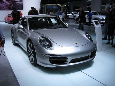 Porsche at the 2012 Detroit Auto Show