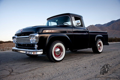 1958 Ford 1/2 Ton Short Bed