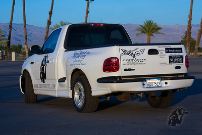 Pimping the Palm Springs Corvette Club Autocross.
