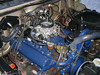 Everything back together. I was completely in awe as the engine purred like a kitten. A dramatic change in 2 years! December 2005.