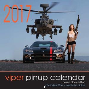 2017 Viper Pinup Calendar