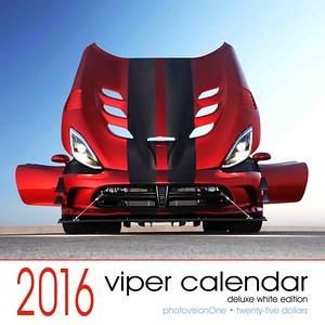 2016 Viper calendar