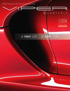First Viper Quarterly Cover