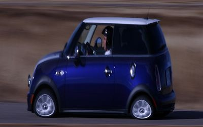 These little cars really stick to the track!