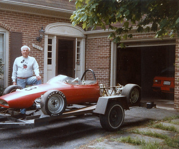 That's not Wally in the picture. That is the owner that Tom Cox purchased the car from.
