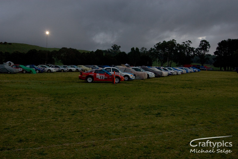 7am Light rain and 1 Degree Celcius<br /> <br /> The Cars are all still sleeping