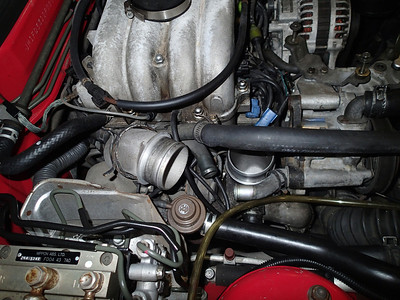 RX-7 EGR valve change