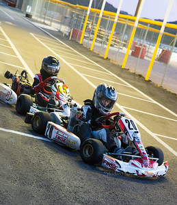 #05 and #20 racing karts at AZ Kart Assn track 05/2015;