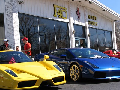 Ferrari Enzo and Lamborghini Gallardo