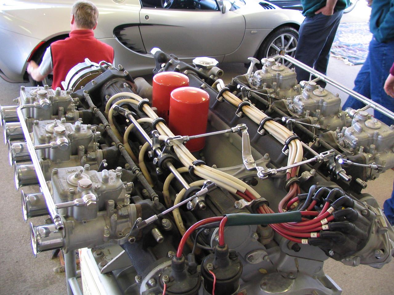 Ferrari 365 V12 engine