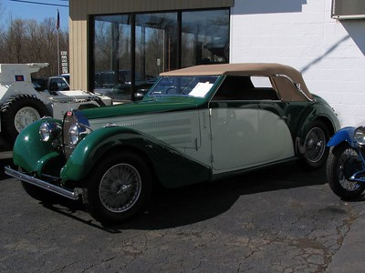 Bugatti Type 57 Stelvio Drop Head