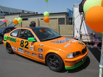 BMW 330ci Grand-Am racecar
