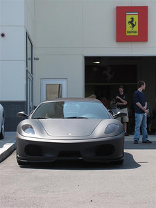 Ferrari 430 Spyder in matte black