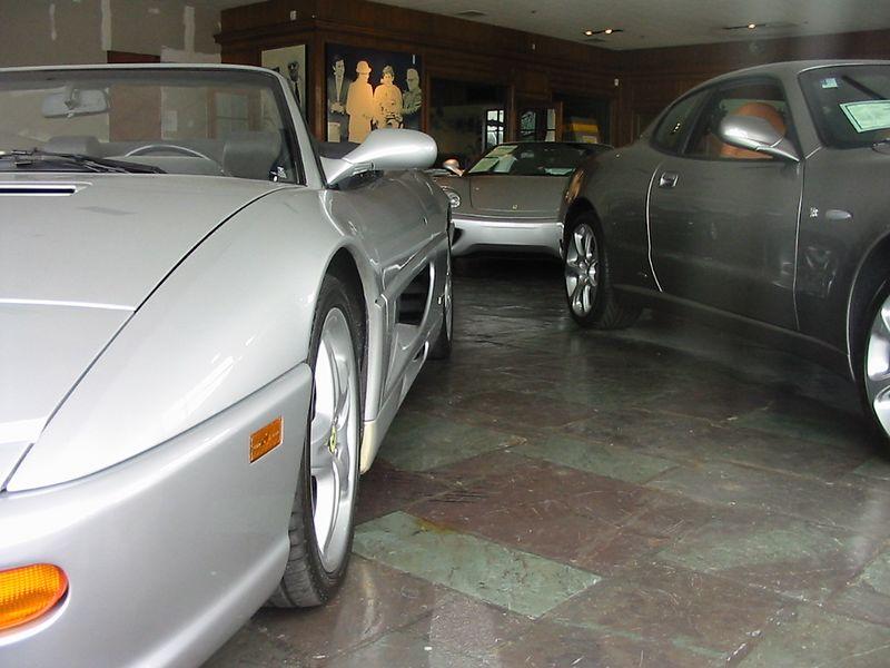 Miller Motorcars - showroom