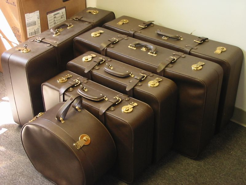Hatch & Sons luggage
