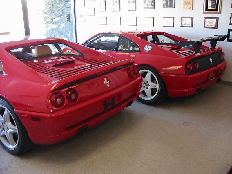 Ferrari 355s - Berlinetta and Challenge