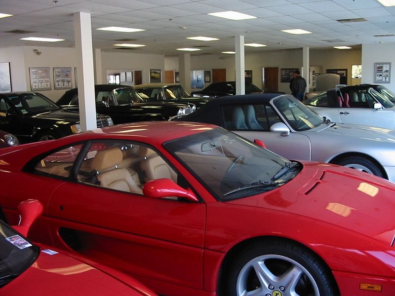 Hatch & Sons showroom