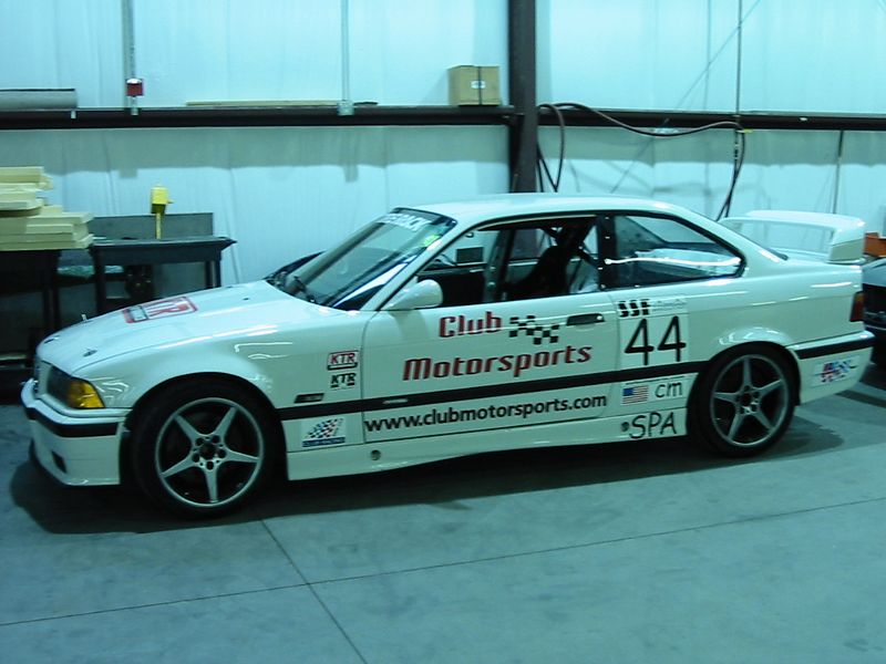 BMW M3, Club Motorsport's founder Dan Croteau