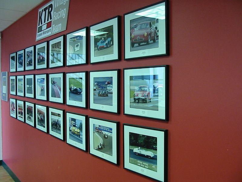 KTR Performance photo wall