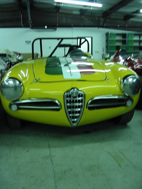 Alfa Romeo Zagato Spyder