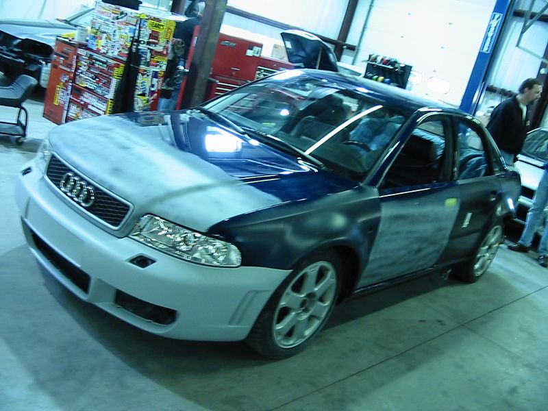 Audi S4 getting RS6 body