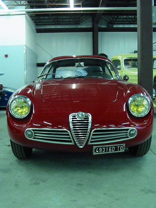 Alfa Romeo Zagato Berlinetta