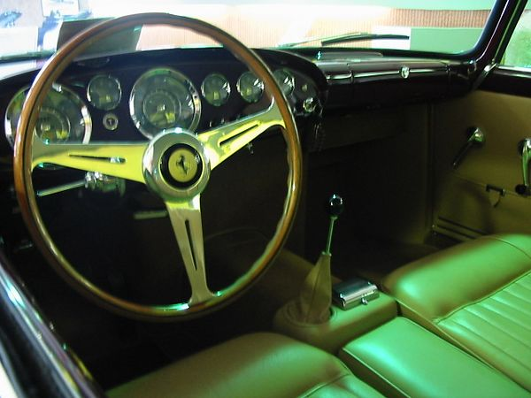 Ferrari 250 tdF (Tour de France) interior)