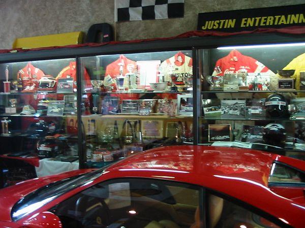 Shelton Ferrari trophy case