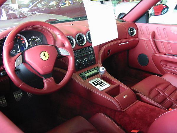 Ferrari 575M interior