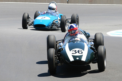 2007 Monterey Historics - Formula Cars - on track