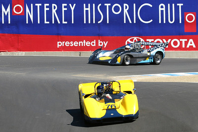2007 Monterey Historics - Can-Am Cars - on track
