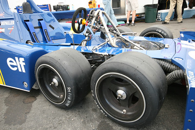2008 Monterey Historics - 1976 Tyrrell P34 - paddock