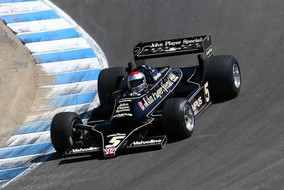 2008 Monterey Historics - Mario Andretti - Lotus 79 - demo laps
