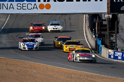 Car #90, BMW M3 GT(GT2), Mueller/Hand, 6th Overall(227 Laps) 2nd in Class, Qualifying Time 1:23.379, Best Race Lap 1:23.714  Car #3, Corvette ZR1(GT2), Magnussen/O'Connell, 10th Overall(224 Laps) 6th in Class, Qualifying Time 1:23.201, Best Race Lap 1:24.118  Car #4, Corvette ZR1(GT2), Beretta/Gavin, 7th Overall(227 Laps) 3rd in Class, Qualifying Time 1:23.101, Best Race Lap 1:23.853  Car #62, Ferrari 430 GT(GT2), Melo/Bruni, 8th Overall(225 Laps) 4th in Class, Qualifying Time 1:22.752, Best Race Lap 1:24.133  Car #48, Porsche 911 GT3 Cup(GTC), Miller/McMullen/Hines, 21st Overall(216 Laps) 5th in Class, Qualifying Time 1:28.126, Best Race Lap 1:28.226  Car #45, Porsche 911 RSR(GT2), Bergmeister/Long, 5th Overall(227 Laps) 1st in Class, Qualifying Time 1:23.484, Best Race Lap 1:23.959  Car #81, Porsche 911 GT3 Cup(GTC), Gonzalez/Leitzinger/Junco, Jr, 19th Overall(217 Laps) 3rd in Class, Qualifying Time 1:23.067, Best Race Lap 1:28.140