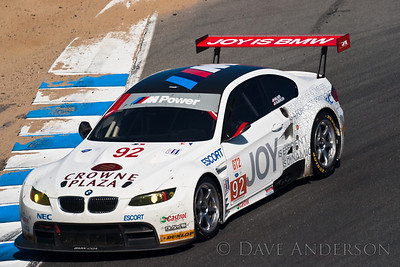 Car #92, BMW M3 GT(GT2), Auberlen/Milner, 13th Overall(222 Laps) 8th in Class, Qualifying Time 1:23.350, Best Race Lap 1:24.062