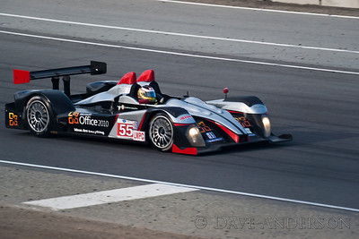 Car #55, Oreca FLM09(LMPC), Tucker/Bouchut/Wilkins, 3rd Overall(229 Laps) 1st in Class, Qualifying Time 1:18.212, Best Race Lap 1:19.343(New Race Lap Record)