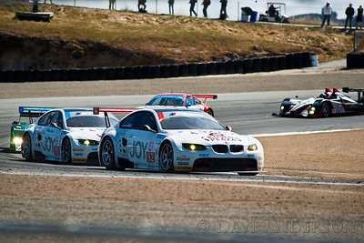 Car #90, BMW M3 GT(GT2), Mueller/Hand, 6th Overall(227 Laps) 2nd in Class, Qualifying Time 1:23.379, Best Race Lap 1:23.714  Car #92, BMW M3 GT(GT2), Auberlen/Milner, 13th Overall(222 Laps) 8th in Class, Qualifying Time 1:23.350, Best Race Lap 1:24.062  Car #55, Oreca FLM09(LMPC), Tucker/Bouchut/Wilkins, 3rd Overall(229 Laps) 1st in Class, Qualifying Time 1:18.212, Best Race Lap 1:19.343(New Race Lap Record)