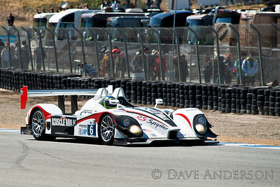Car #6, Porsche RS Spyder(LMP), Gidley/Graf/Maassen, 2nd Overall(230 Laps) 2nd in Class, Qualifying Time 1:13.855, Best Race Lap 1:15.853