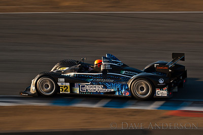 Car #52, Oreca FLM09(LMPC) Dobson/(Richard*)/Villeneuve, 19th Overall(232 Laps), 7th in Class, Qualifying Time 1:20.779 @99.739mph, Best Race Lap 1:22.680, Total Time 6:02:17.083(16 Laps Behind Lead)